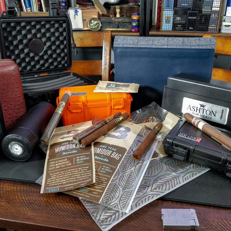 Different Travel Humidors For Cigars