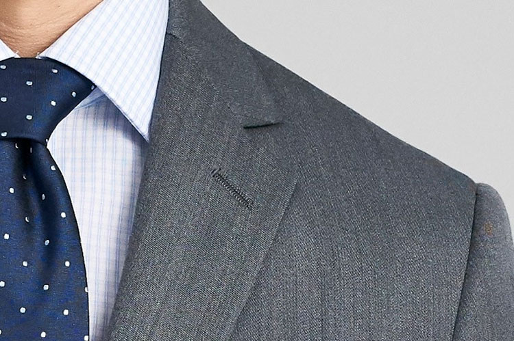 Indochino Hereford Cavalry Twill Gray