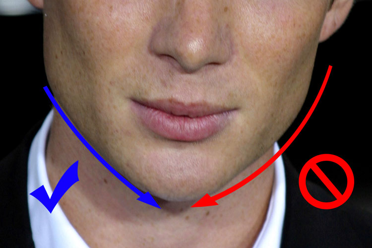 Cillian Murphy Jawline Face Shape Measurement