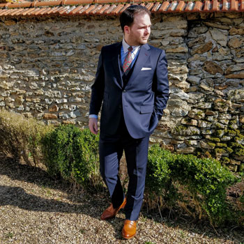 How To Pair Navy Blue Trousers With Different Shoes Bespoke Unit