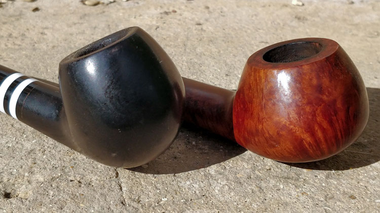 Apple & Author Pipe Shape Examples