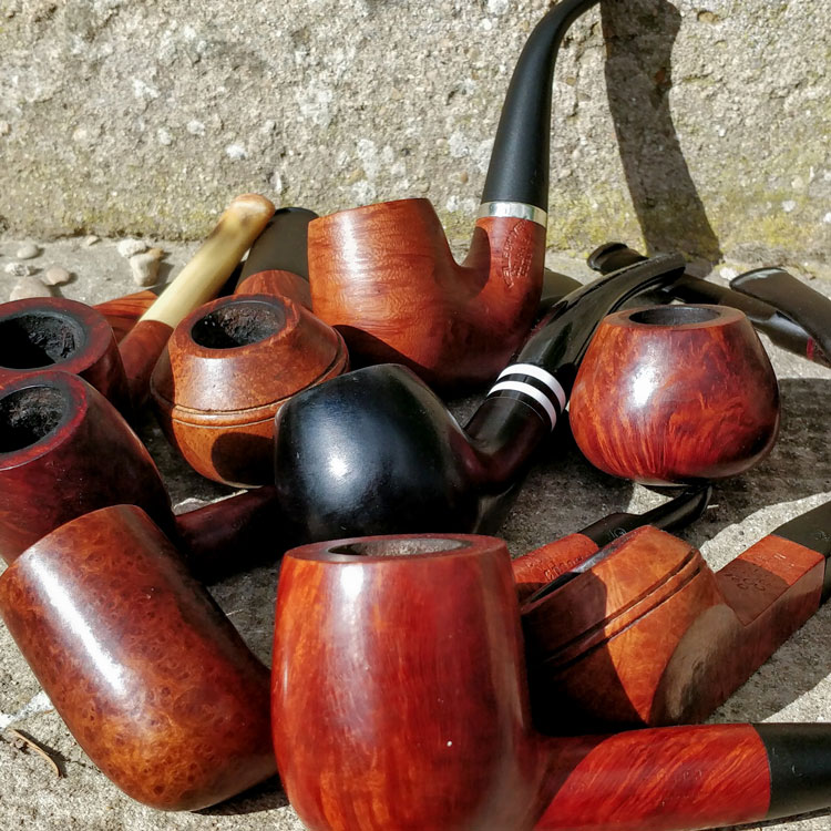 Assortment Of Different Pipe Shapes