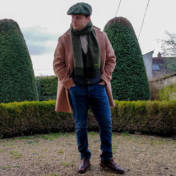 Hockerty Coat, Jeans & Custom Indochino Waistcoat