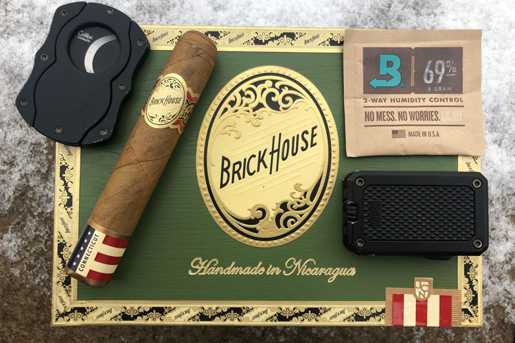 JC Newman Brick House Cigar Box & Accessories