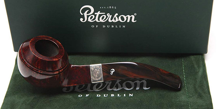 Peterson Harp 80S Tobacco Pipe Fishtail
