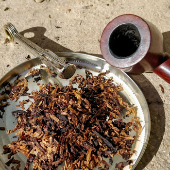 Preparing Tobacco For Packing