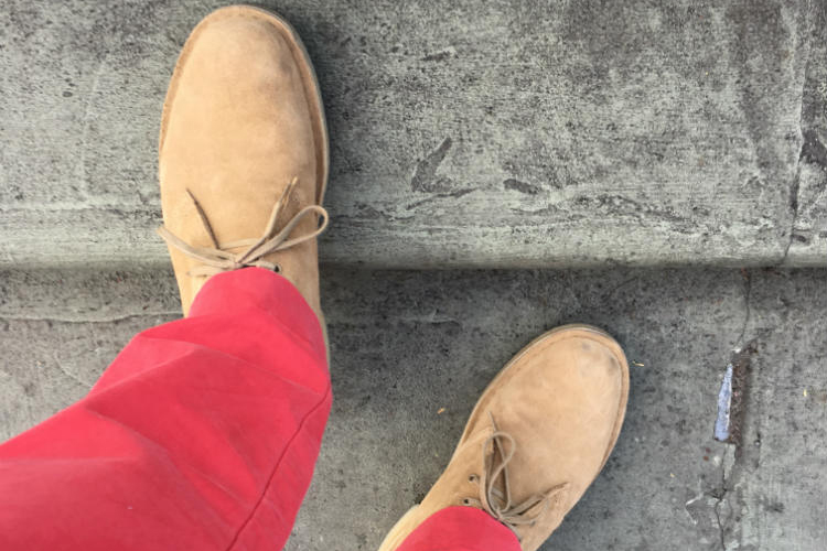 How To Pair Beige Shoes With Different