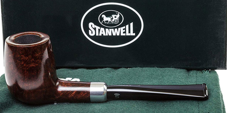 Stanwell Army Mount Red 29 Tobacco Pipe