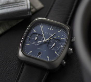 Brew Watches Retrograph Blue Dial Lume Picture