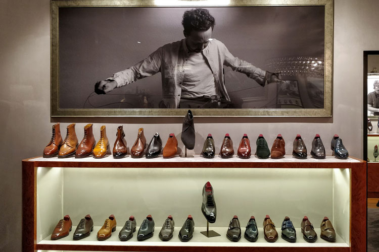 Gaziano Girling Shoe Shop Display