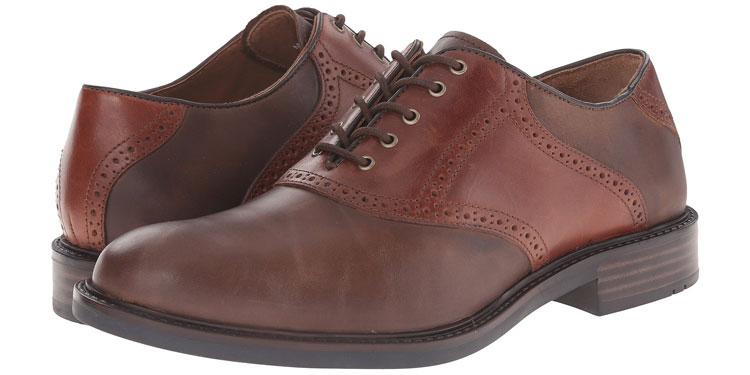 Johnston & Murphy Tabor Saddle Shoe