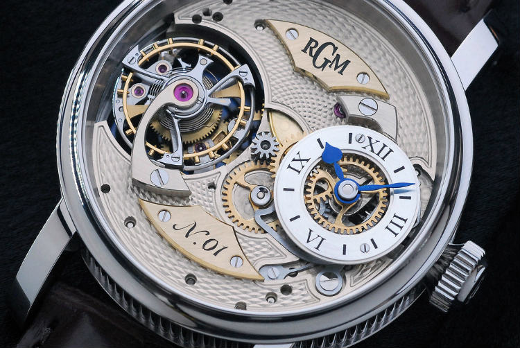 RGM Watches Pennsylvania Tourbillon Dial Details
