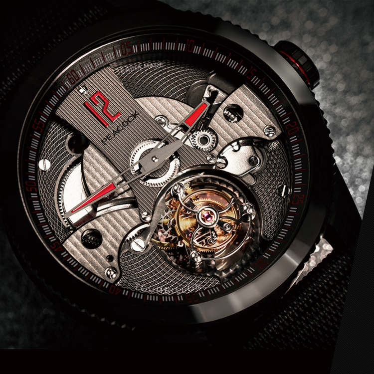 Liaoning Peacock Watch Factory Chinese Tourbillon