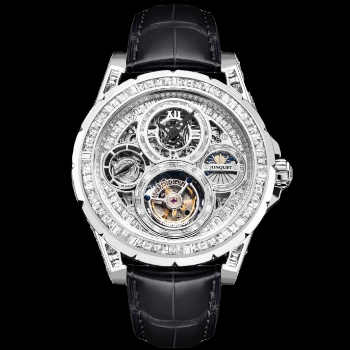 Memorigin Jonquet Diamond Tourbillon Mens Watch