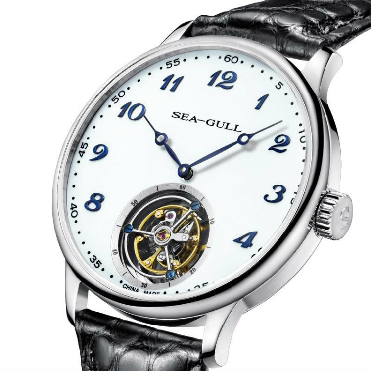 Seagull Tourbillon Manual Watch White Dial