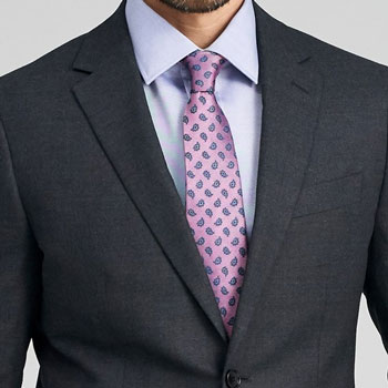 Indochino Hayward Charcoal Flannel Suit