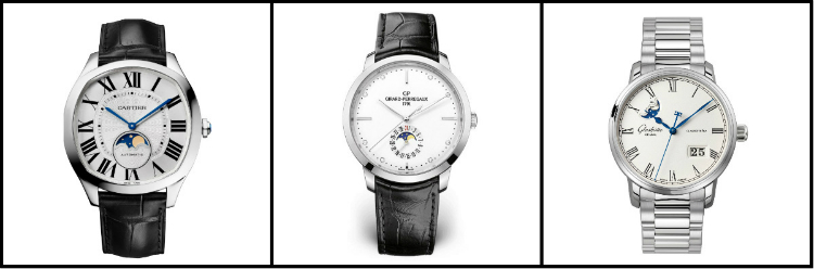 Moonphase Watches Under $10,000 Collage