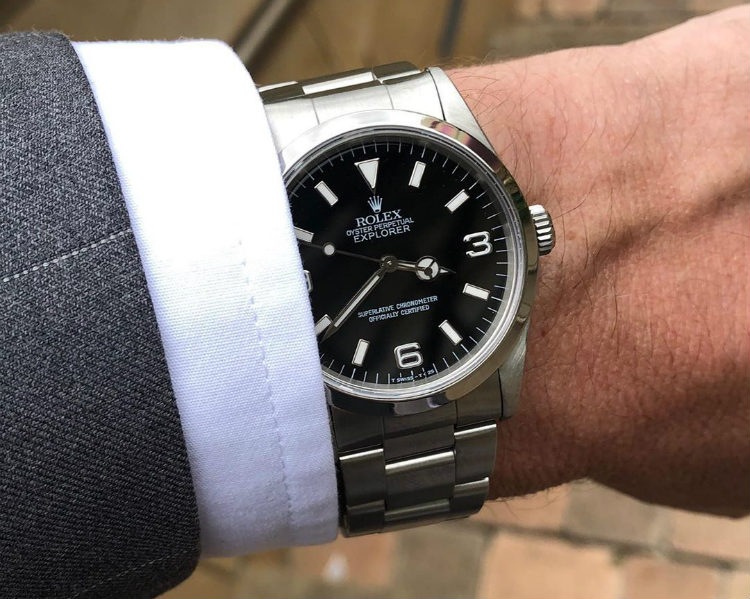 Affordable Rolex Explorer I Steel Watch