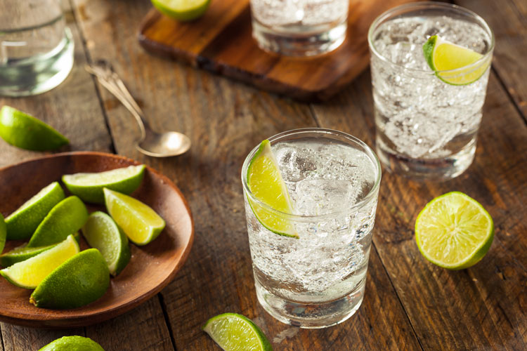 Classic Gin & Tonic With Lime
