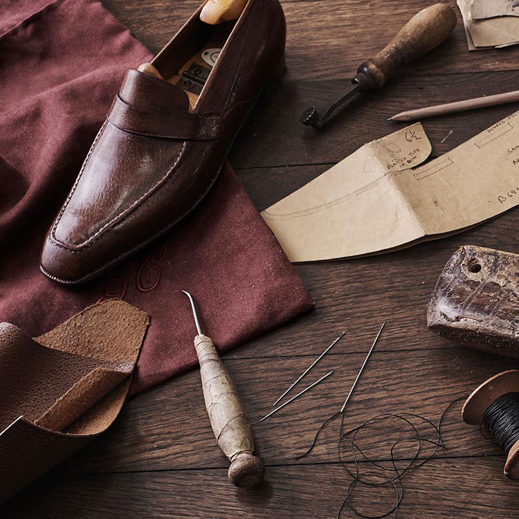 George Cleverley Penny Loafers & Tools