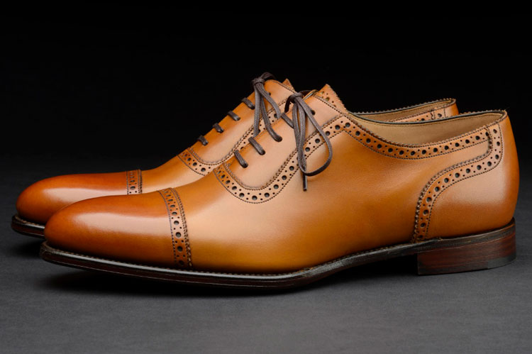 Loake Trinity Half Brogue Shoe