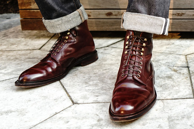 Meermin Shell Cordovan Boots