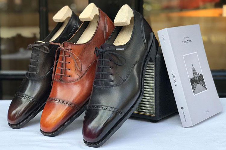 Norman Vilalta Bespoke Cap Toe Shoes