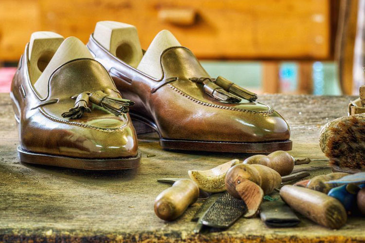 Saint Crispin's Shoes In Workshop