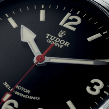 Tudor Heritage Ranger Field Watch Black Dial