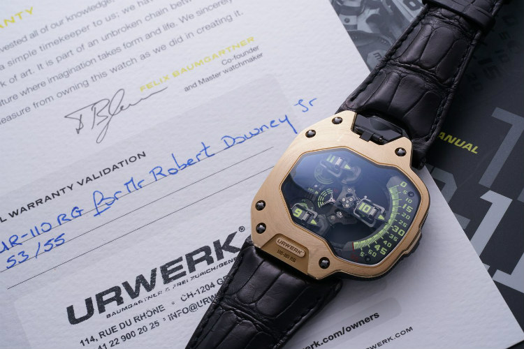 Philips Auction Iron Man Urwerk Watch