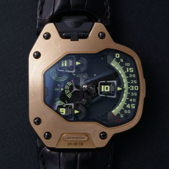 Robert Downey Jr. Gold Urwerk Watch