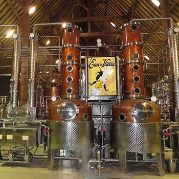 Biercée Distillery in Belgium