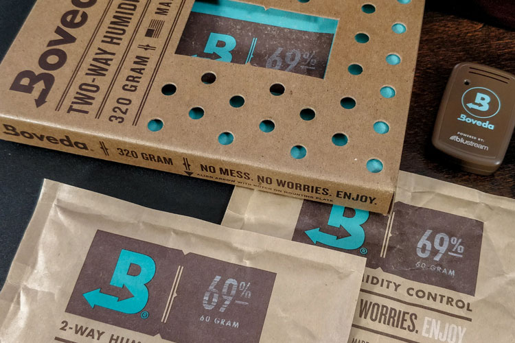 Boveda Humidity Packs & Butler Smart Sensor