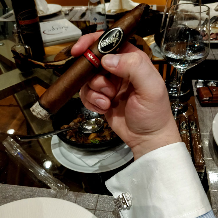Davidoff Yamasa Cigar At Saga