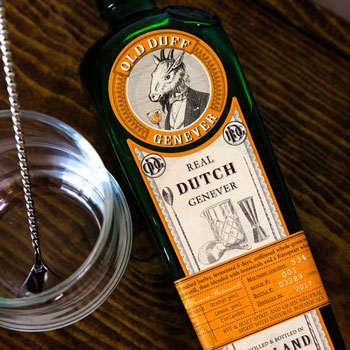 Old Duff Real Dutch Genever Bottle