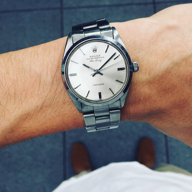 Vintage Steel Rolex Air-King 5500