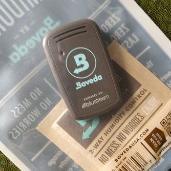 Calibrating Butler In Boveda Humidor Bag