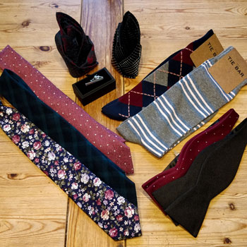 The Tie Bar Selection Of Accessories