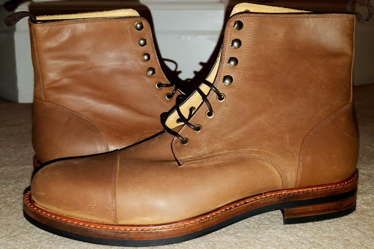 Beckett Simonon Dowler Pull-Up Leather Boots
