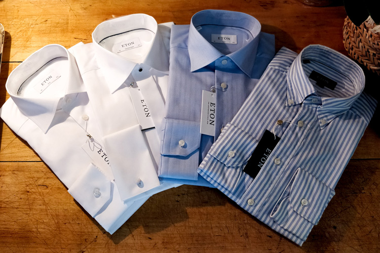 Collection Of Eton Shirts