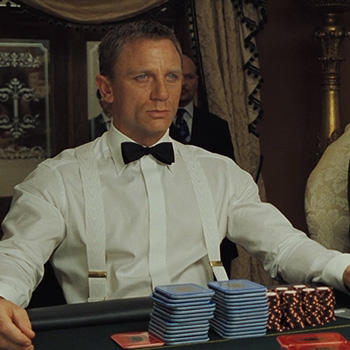 Turnbull & Asser Evening Shirt In James Bond Casino Royale