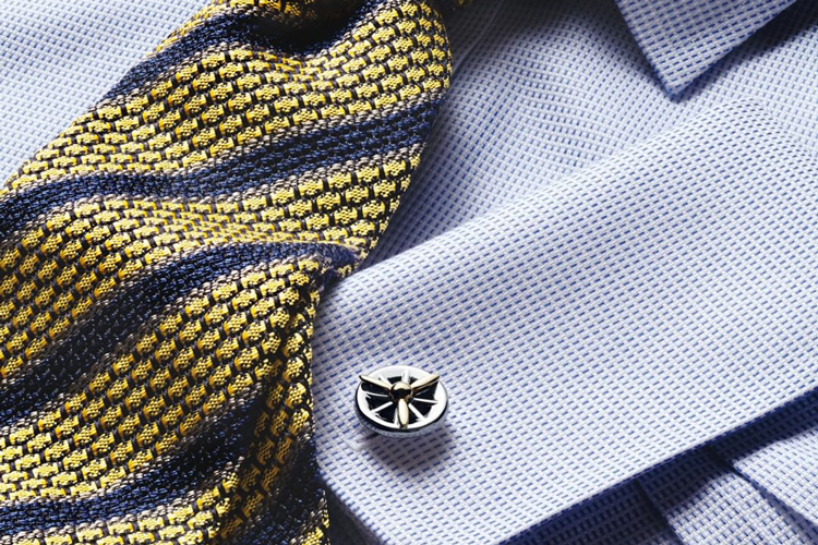 Charles Tyrwhitt Cufflinks On Shirt