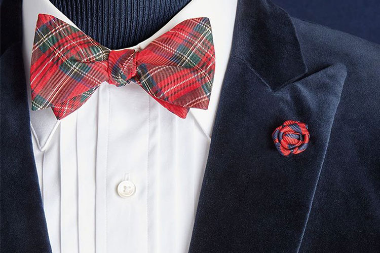 Brooks Brothers Tartan Bow Tie