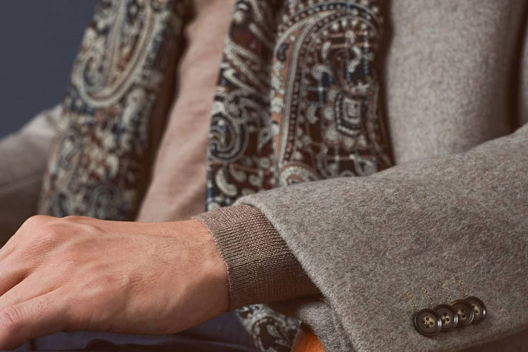 Hawes & Curtis Paisley Scarf