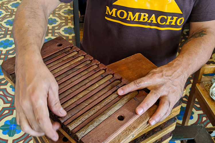 Mombacho Wooden Cigar Molds