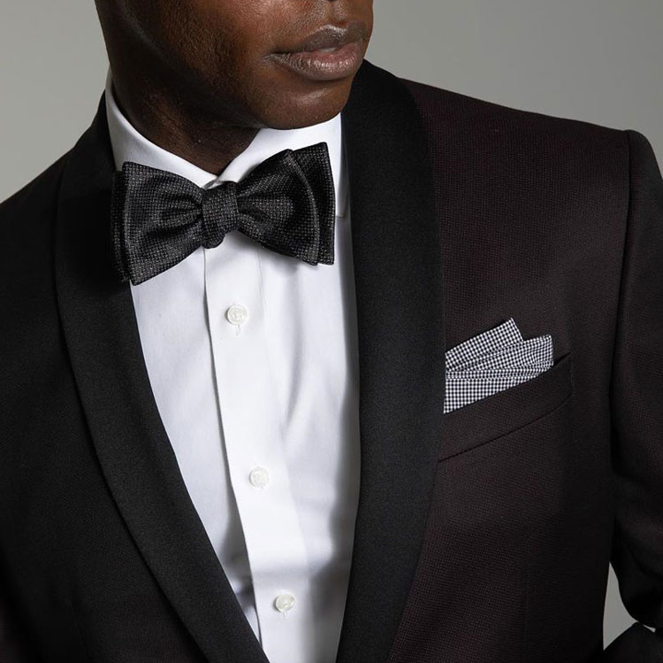 The Tie Bar Tuxedo & Bow Tie