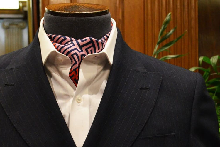 Turnbull & Asser Ascot Cravat