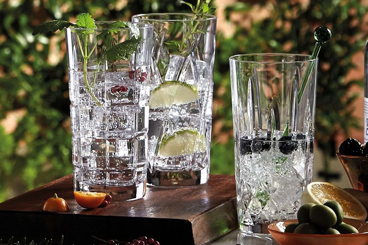 Waterford Highball Collins Glasses