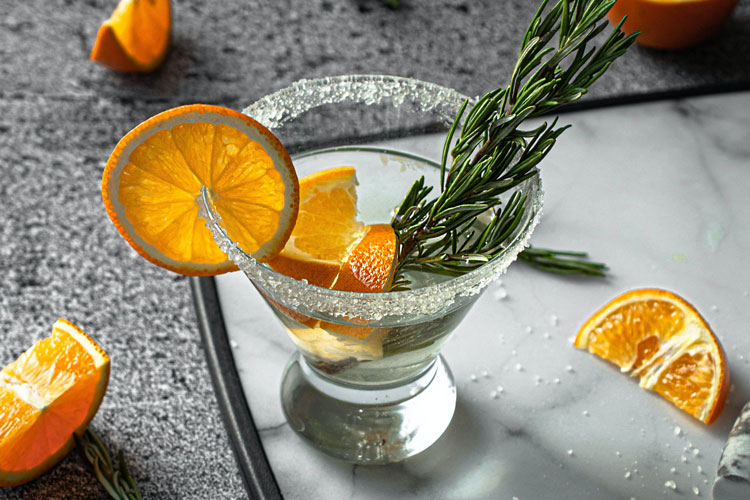 Grappa Spritz Cocktail