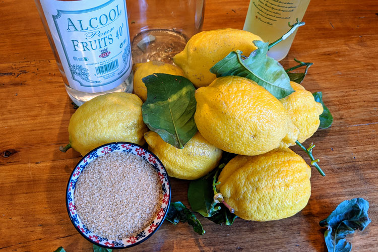 How To Make Limoncello Authentic Italian Homemade Limoncello Recipe